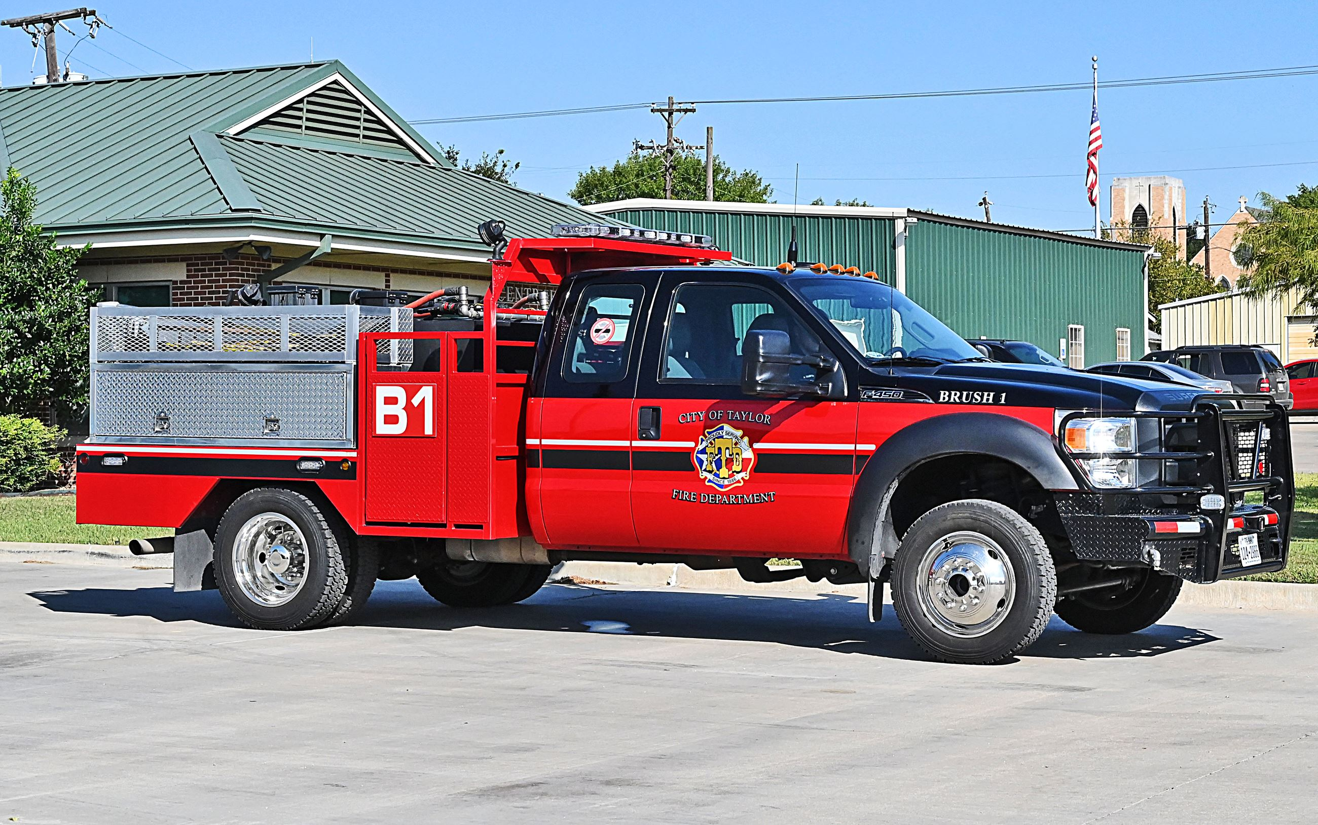 Photo of Fire Department Brush 1 Truck