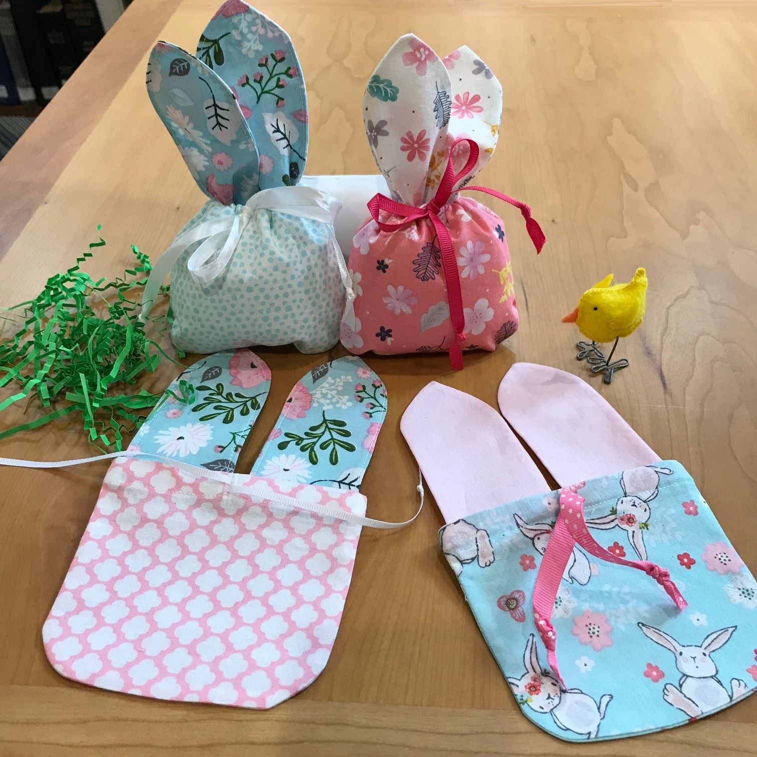 Bunny Bag Sewing Saturday March 16