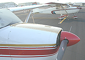 Airplanes at Taylor Municipal Airport
